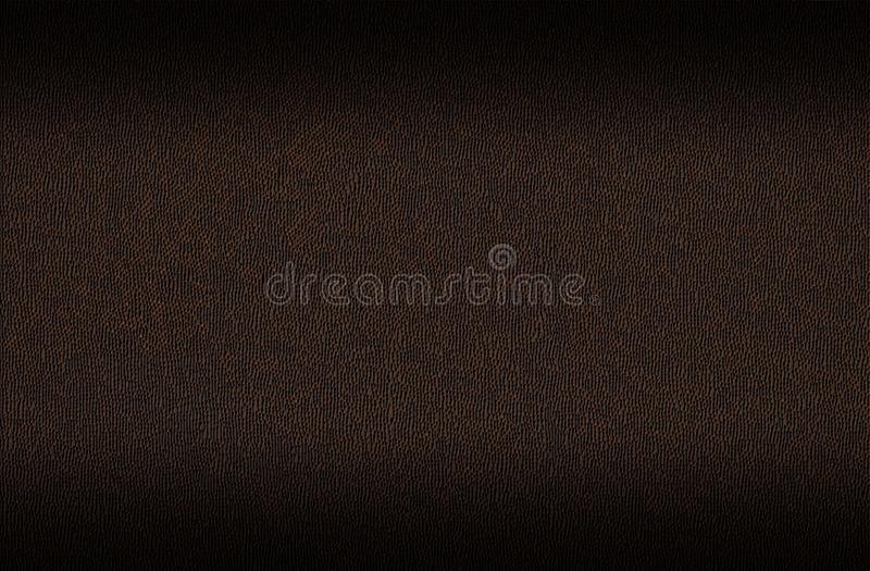 Dark brown leather surface for background royalty free stock images
