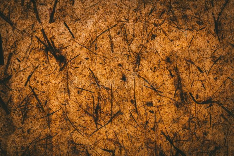 Dark brown texture and background made with recycled paper. Brown abstract texture. vector illustration