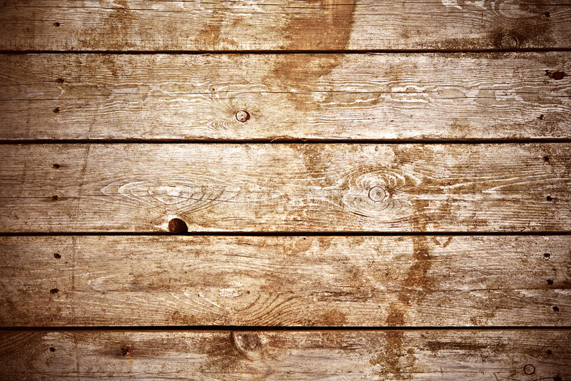Dark brown wood background of old boards royalty free stock images