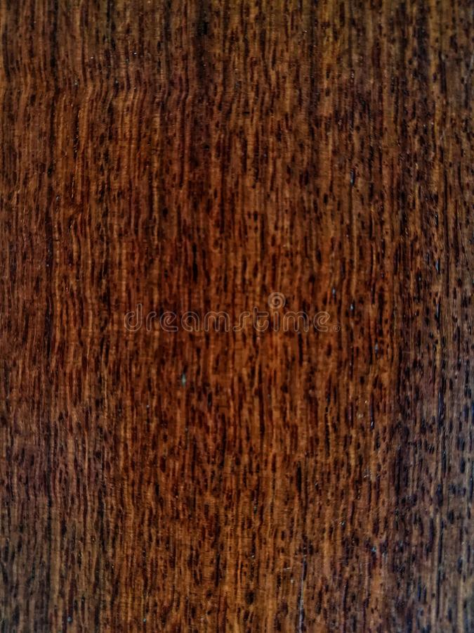Dark brown wood surface royalty free stock photo