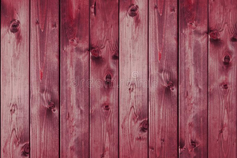 Dark brown wooden boards, planks. Surface of dark shabby weathered parquet, desk. stock image