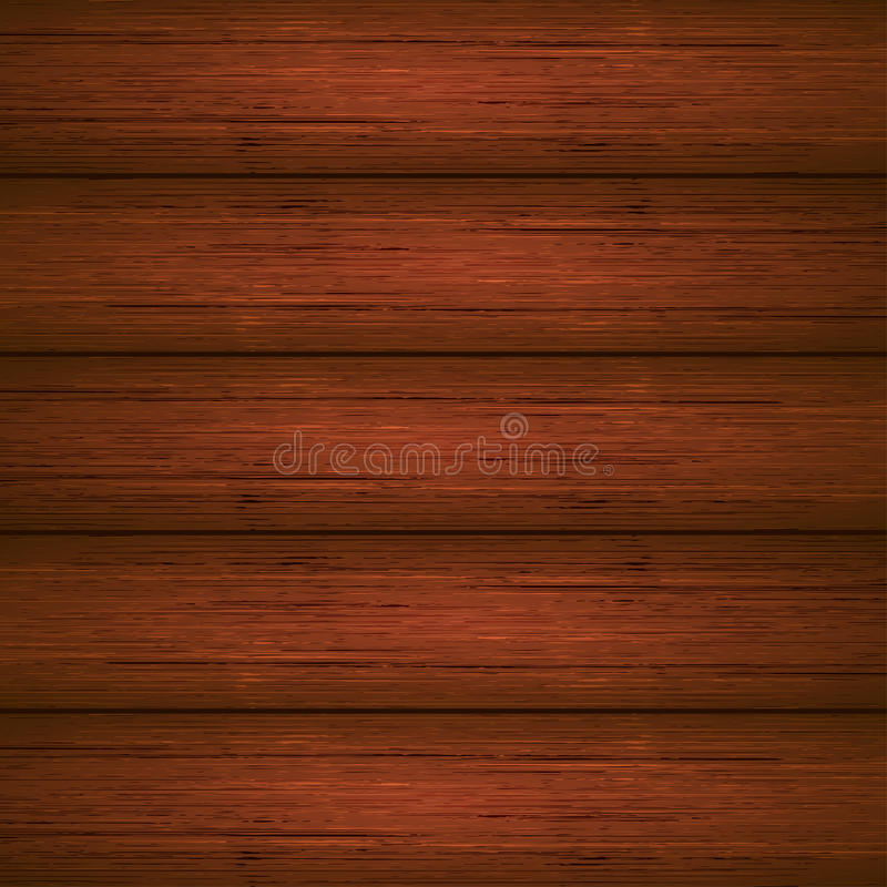 Dark brown wooden planks texture royalty free illustration
