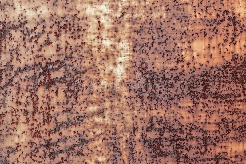 Dark worn rusty metal texture background. Vintage effect royalty free stock images