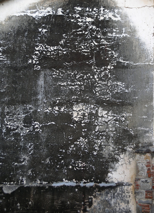 Dark burnt wall stock images