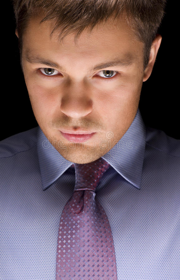 Free Dark Businessman Portrait Royalty Free Stock Photo - 11363785