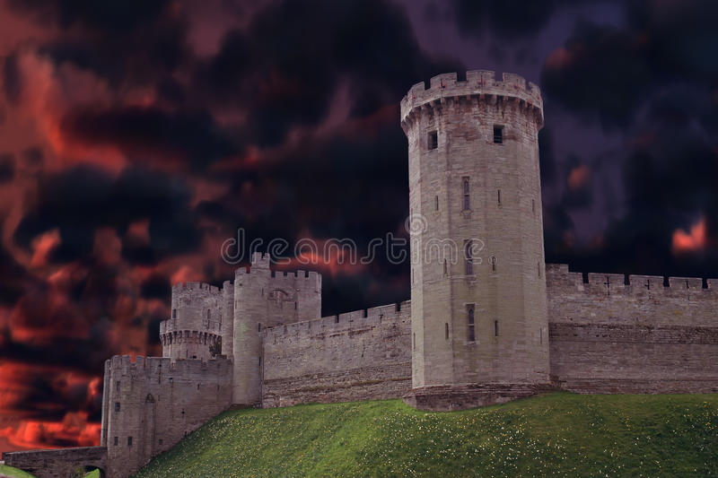 Download Dark castle stock photo. Image of stone, castle, mysterious - 32154818