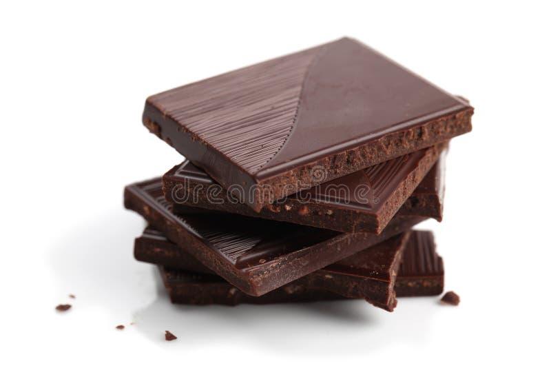 Download Dark chocolate stock image. Image of dessert, block, brown - 18831815