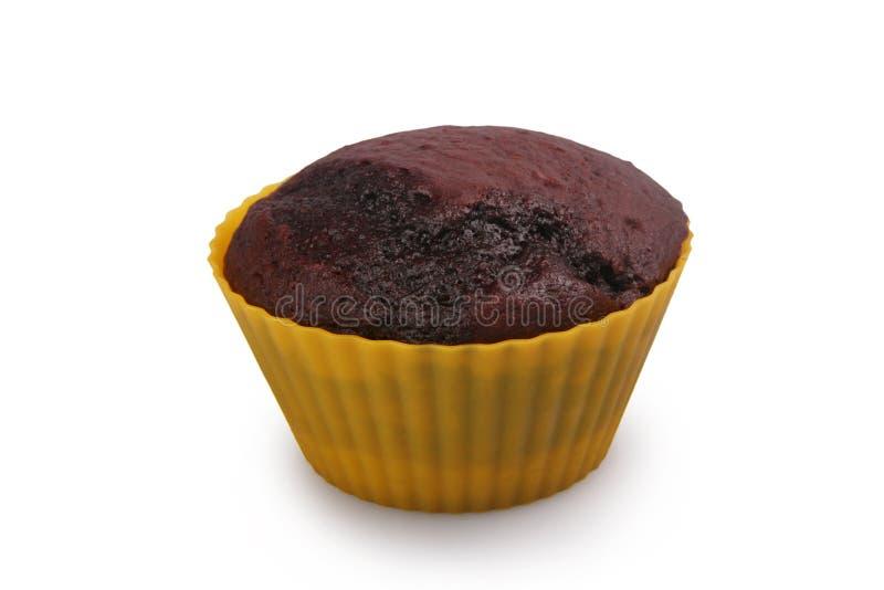 Dark Chocolate Muffin royalty free stock photo