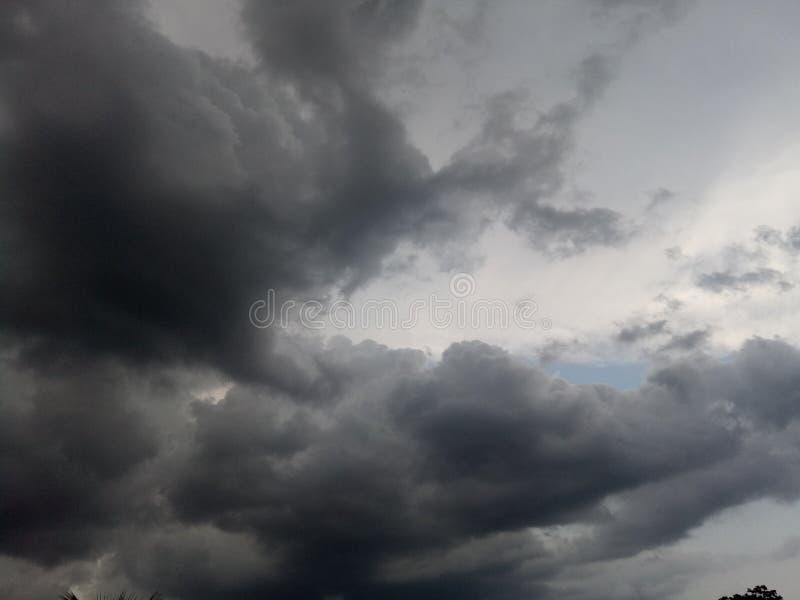 Dark Cloud Rearranging stock image