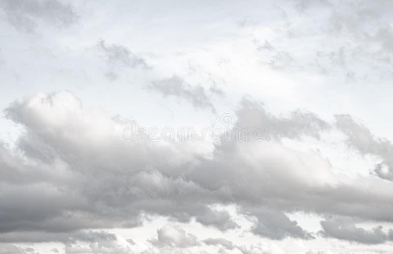 Dark cloud  on the sky. Close up dark cloud  on the sky stock photo