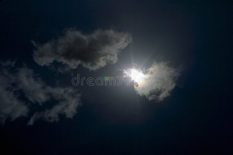 Dark Clouds royalty free stock photo