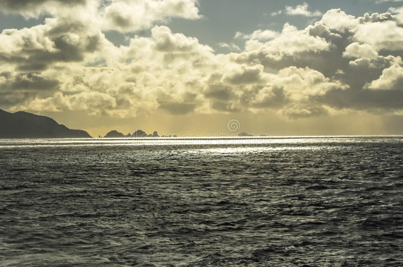 Download DARK CLOUDS CLOSE TO CAPE HORN Stock Image - Image: 37770421