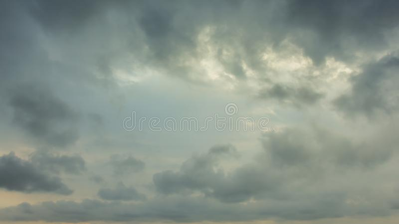 Dark Clouds royalty free stock photo