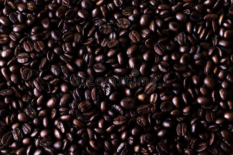 Download Dark Coffee stock photo. Image of fresh, texture, beans - 17710464