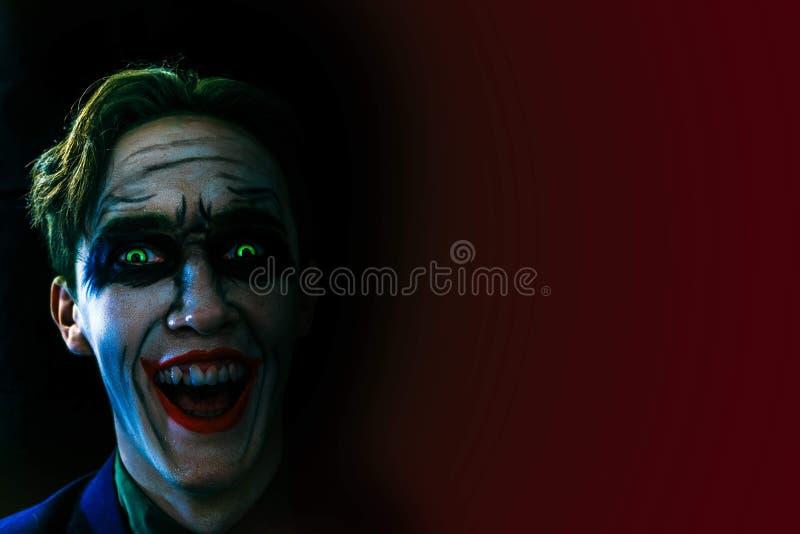 Crazy Joker. stock image