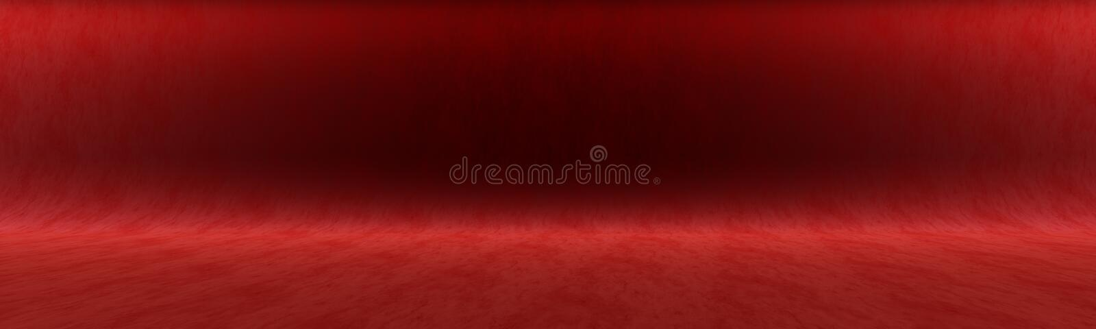Dark crimson background for shooting in the Studio or for your advertising text vector illustration