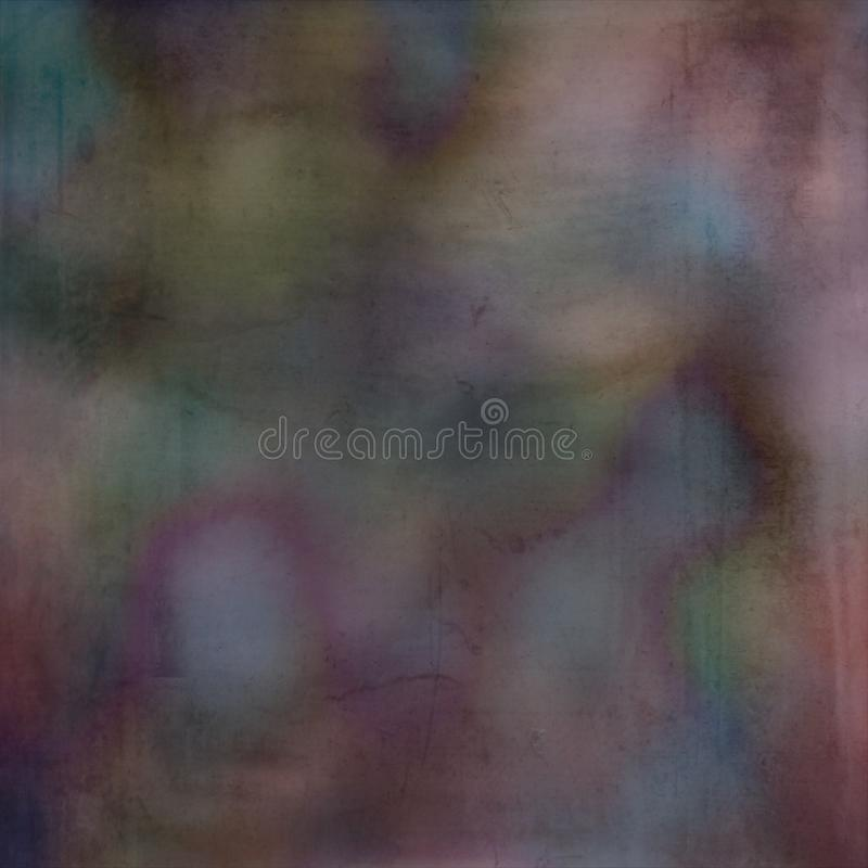 Digital Art Grunge Textured Effect Multi Colored Background royalty free stock photography