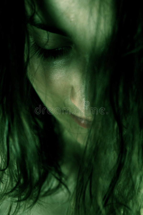 Download Dark face stock image. Image of oftalmologist, mysterious - 199687