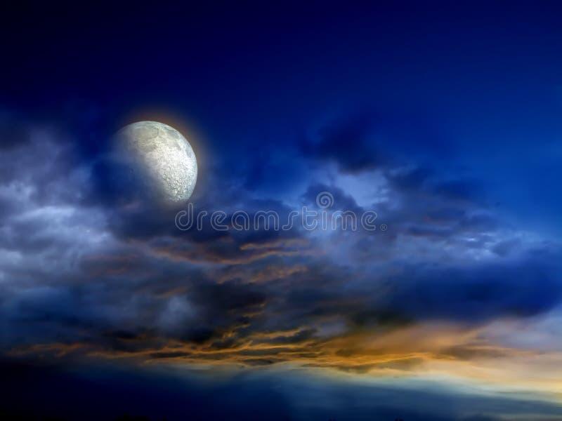 Download Dark Fantasy Illustration stock illustration. Illustration of heavens - 3394859