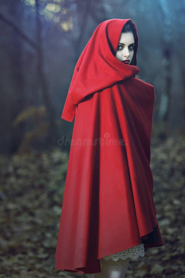 Dark fantasy portrait royalty free stock photos