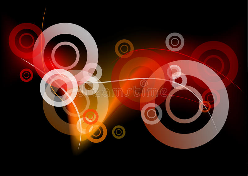 Download Dark fire stock vector. Image of curve, line, shape, fire - 17411371