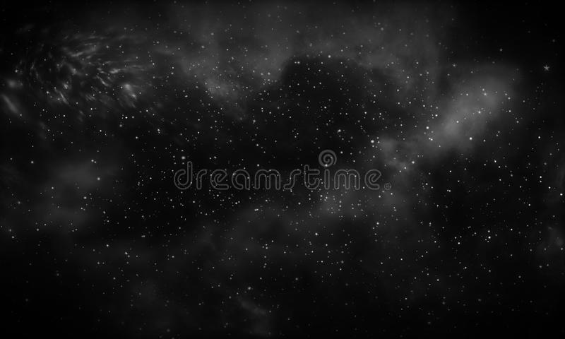 Download Dark Galaxy Background Stock Illustration Of Escape