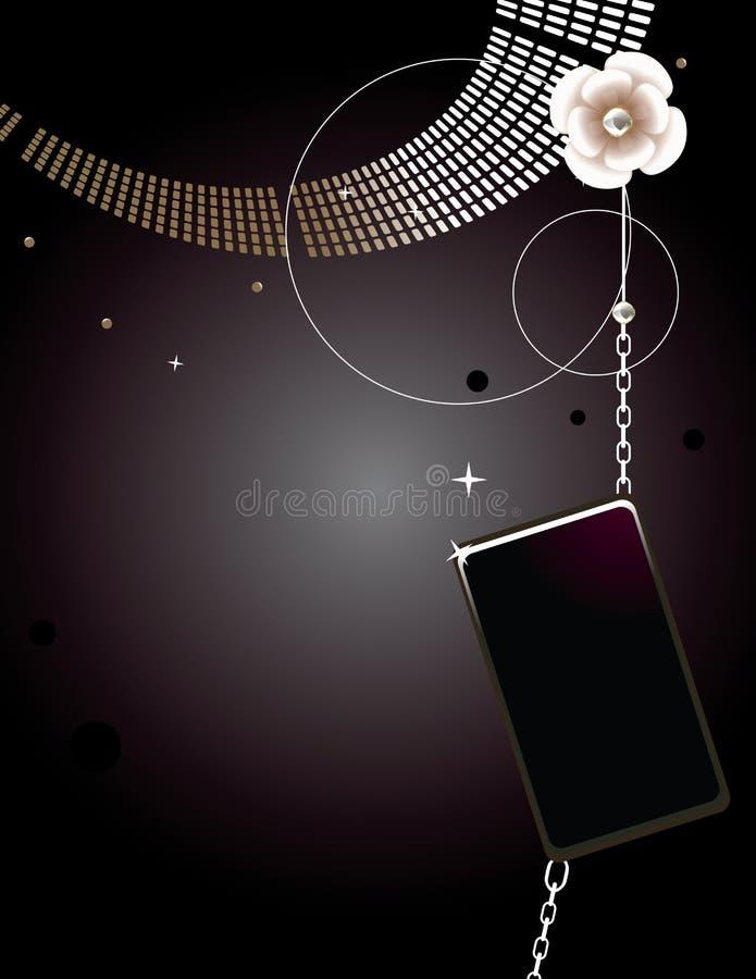 Dark glam abstract 5 vector illustration