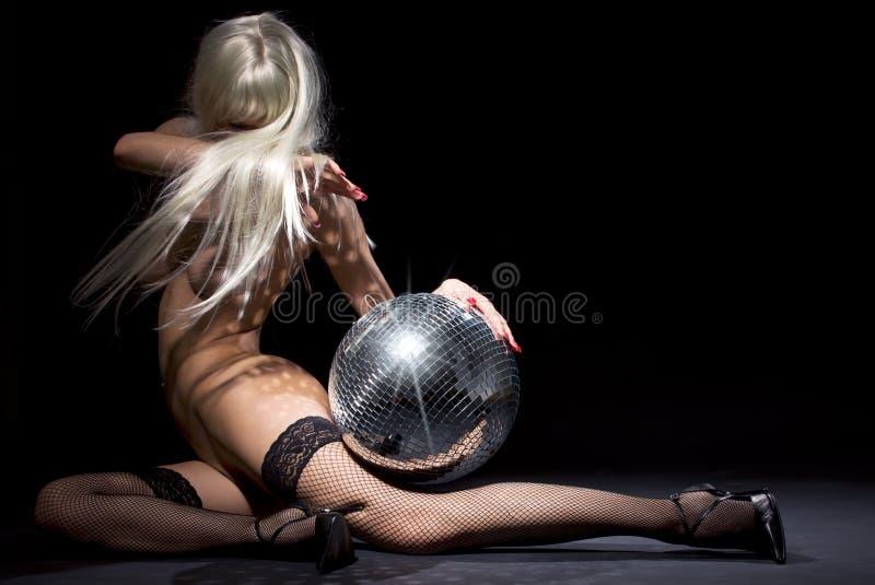 Download Dark glitterball dance stock image. Image of beautiful - 10172873