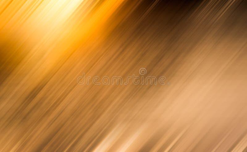 Dark gold blur graphic background stock illustration
