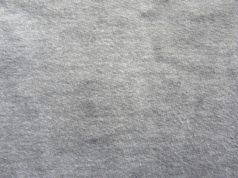 Dark gray color soft cotton fabric texture background royalty free stock image