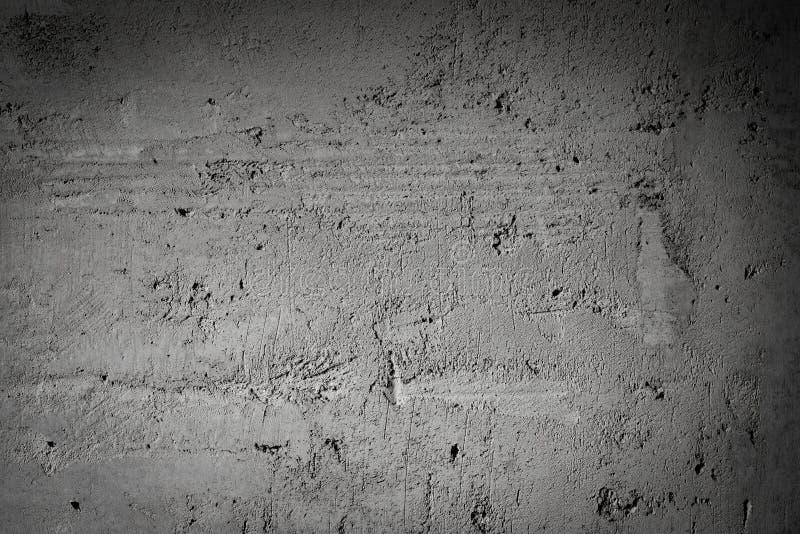 Dark Gray Concrete Of Wall Background. stock photos