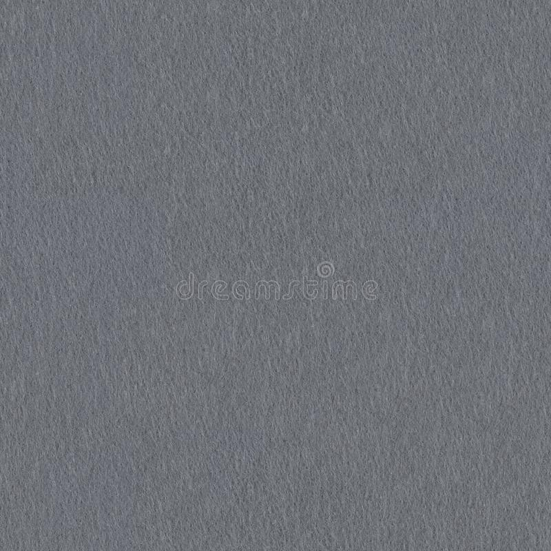 Dark gray felt texture. Seamless square background, tile ready. royalty free stock images
