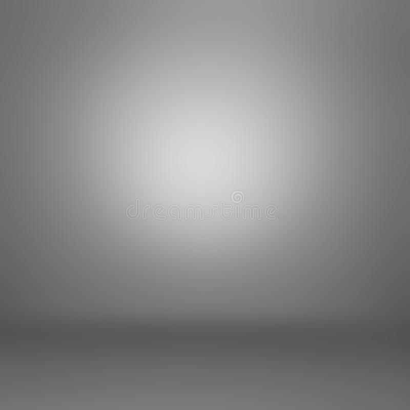 Dark gray gradient abstract background vector illustration