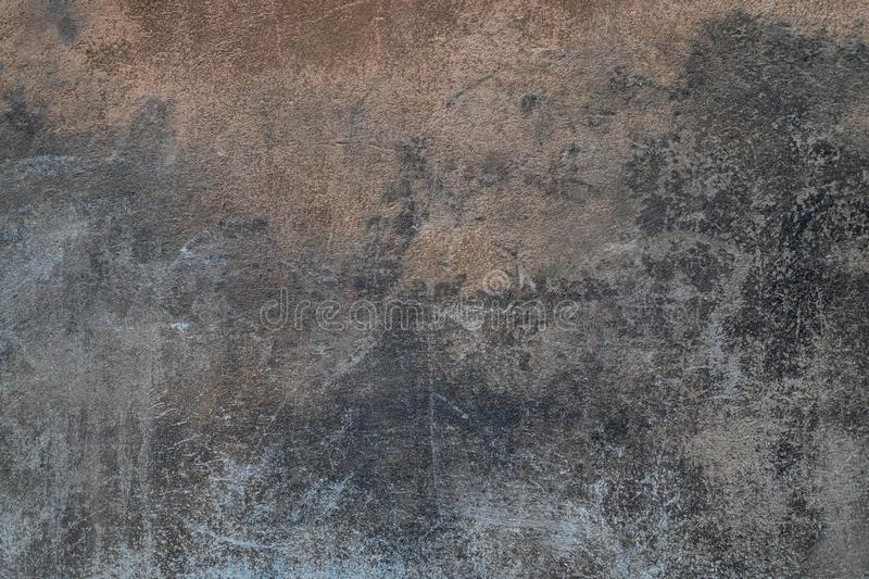 Dark gray old cement wall background close up royalty free stock images