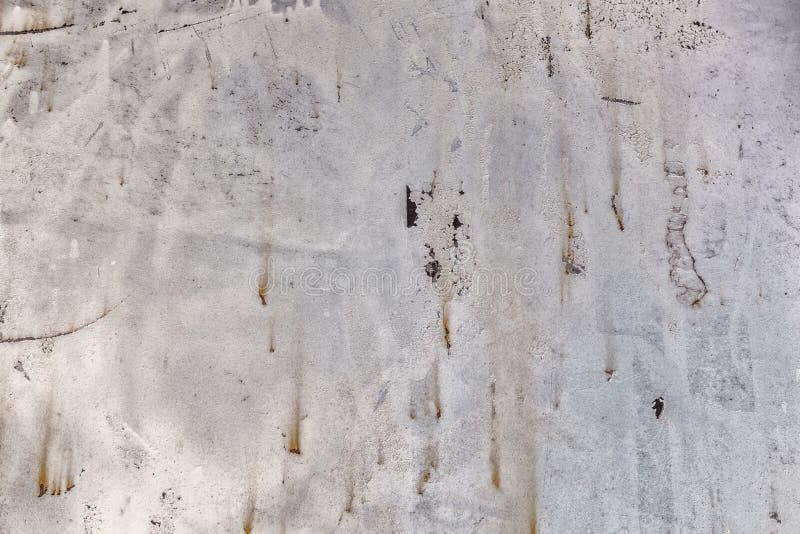 Dark gray rusty metal texture background. Vintage effect stock image