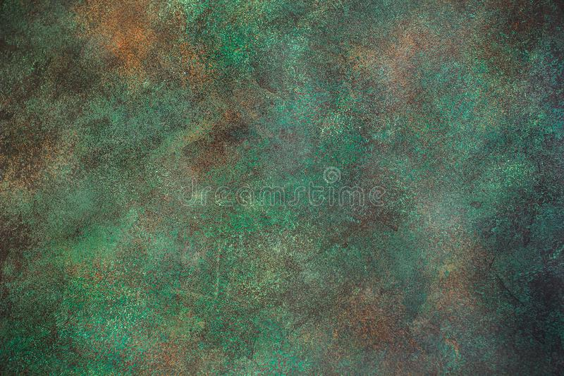 Dark green concrete background. royalty free stock images