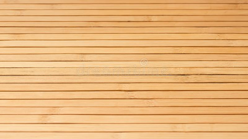 Bamboo boards as a rustic backdrop for web design and decoration. High resolution photography. stock photography