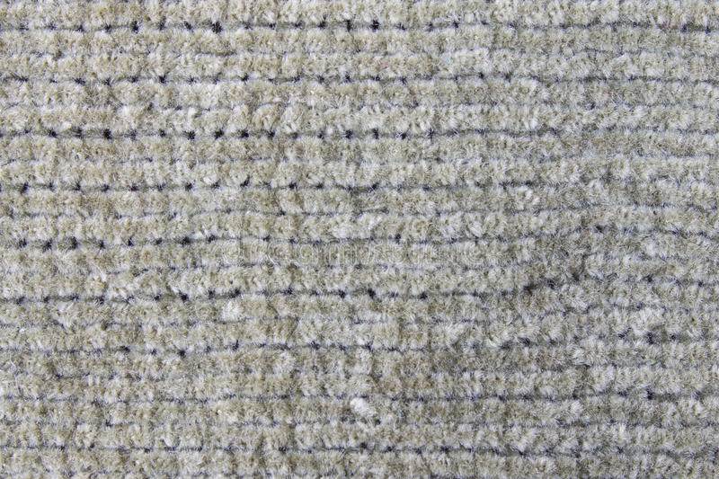 Dark Green Knitting or Knitted Fabric Texture Pattern Background stock image