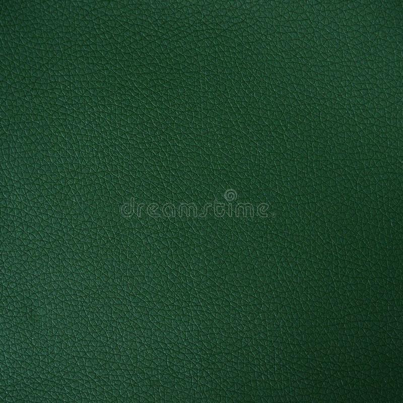 Dark green leather texture royalty free stock image