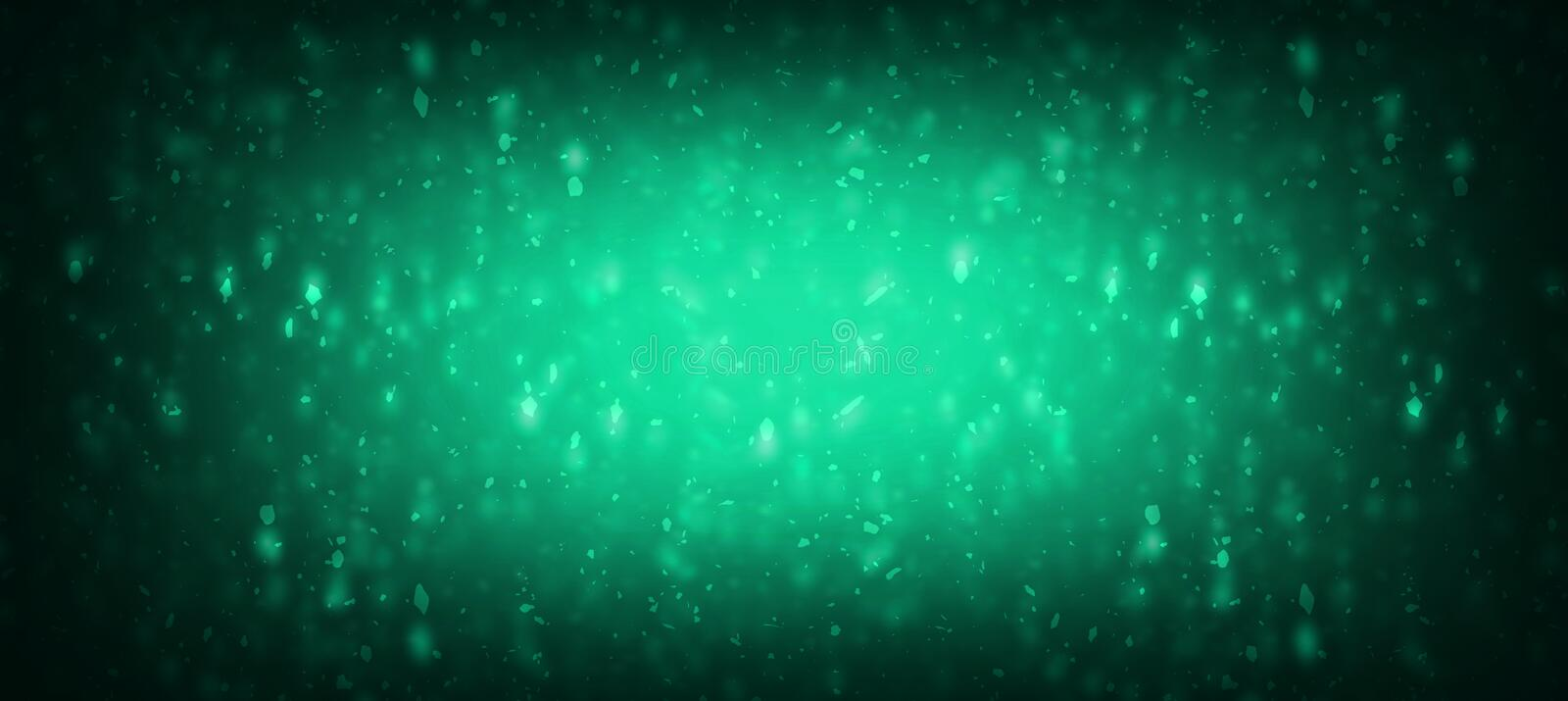 Dark green with light shadow texture effect background for Website banner vector illustration
