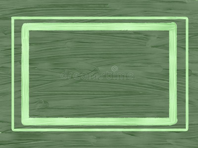 Dark green textural background with frame. royalty free stock photos