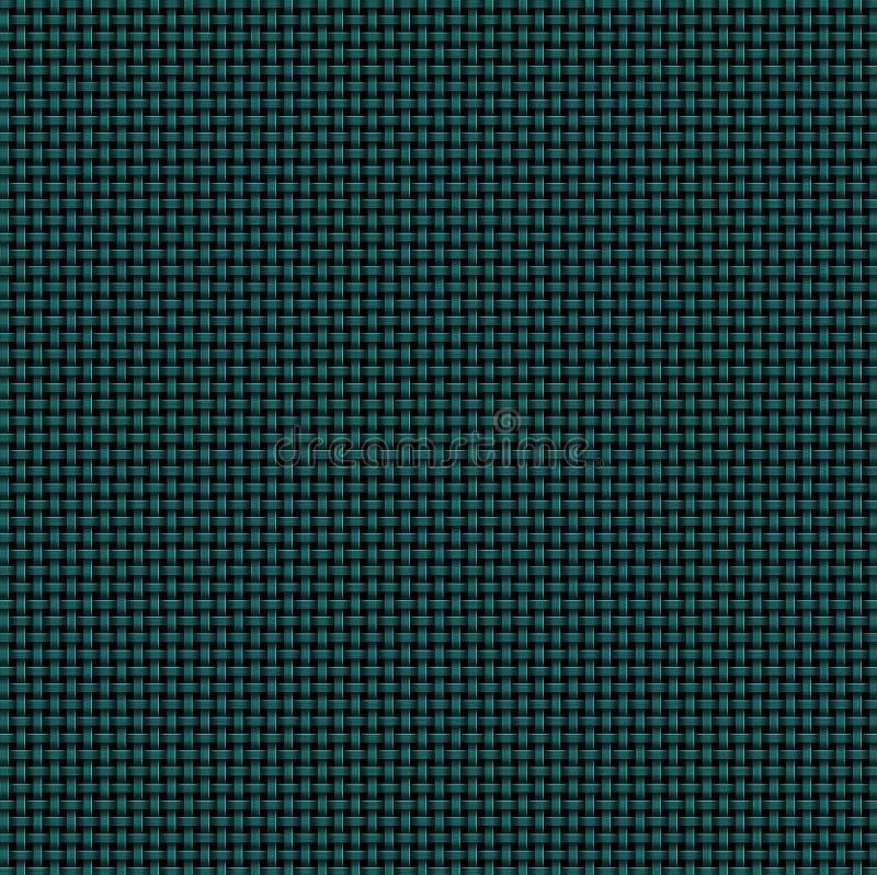 Free Dark Green Woven Basketweave Background Royalty Free Stock Image - 140326956