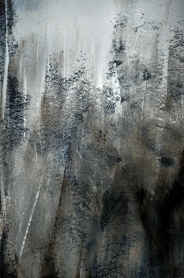 Dark grey background of rough paint texture stock photography