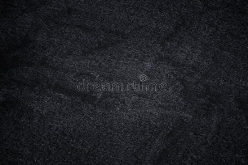 Dark grey black slate background or natural stone texture. Black stone wall royalty free illustration