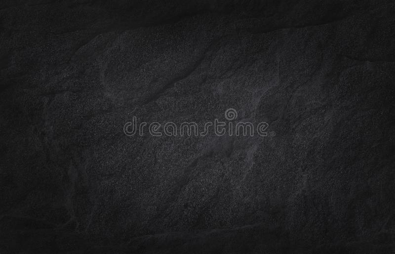 Dark grey black slate texture in natural pattern. Black stone wall. Dark grey black slate texture in natural pattern with high resolution for background and royalty free stock images