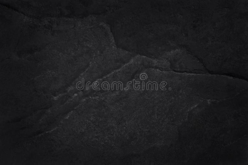 Dark grey black slate texture in natural pattern with high resolution for background and design art work. Black stone wall.  stock images