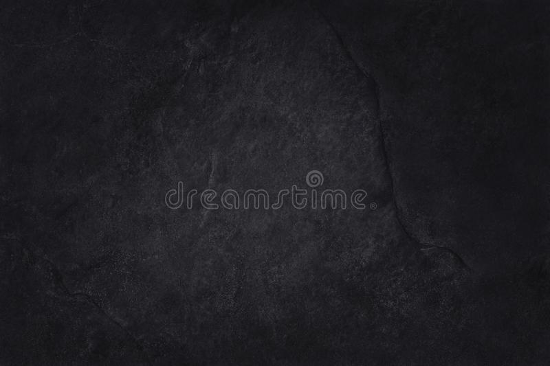 Dark grey black slate texture in natural pattern with high resolution for background and design art work. Black stone wall.  stock image