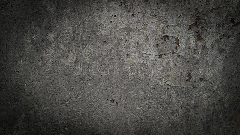 Dark grey concrete background stock image