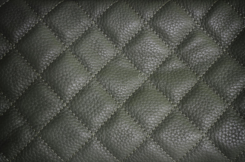 Dark grey leather texture background stock images