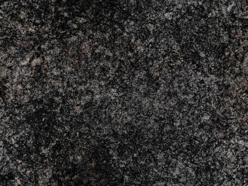 Rough Black Granite : Dark grey natural raw seamless granite stone texture